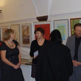Vernisáž a aukce obrazů